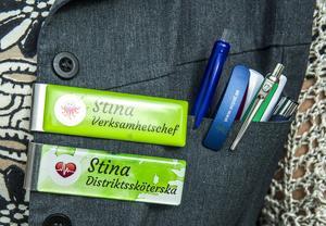 Stina Hedengran är verksamhetschef men jobbar även som distriktssköterska någon dag i veckan. Hon tror att Fjällhälsans goda resultat och nöjda patienter är en kombination av arbetsglädje och kortare beslutsvägar.
