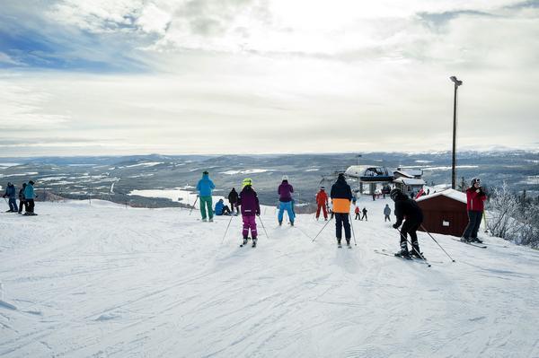 En vanlig sportlovsdag åker 1 500  personer i Funäsdalsberget. Tillsammans gör de mellan 6 000 och 10 000 åk – och då räknas inte barn under åtta år.
