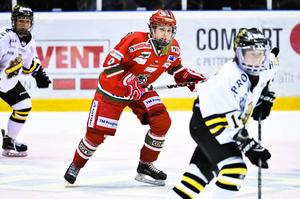 Modo-AIK, kvartsfinal ett Riksserien 2016. Modo Dam, damlaget. Moa Wernblom