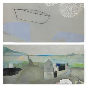 Målningar av Margareta Lindman och Mia Fagergren visas också på Stenhuset med start torsdag 25 maj.