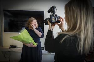 Karin Jonsson tilldelas årets Klara Lindh-stipendium.
