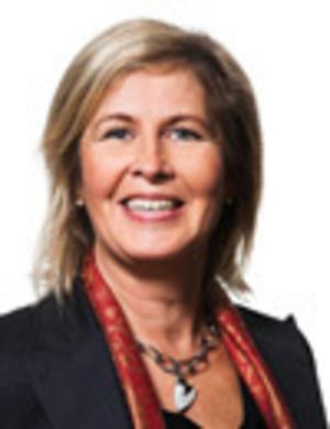 Eva Högdahl, ny vd på Almi företagspartner Mitt. Foto: Pressbild