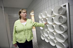 Kari Tryde säger nej till kvinnobad.