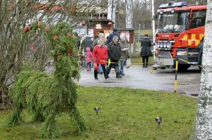 Julmarknad Frövifors pappersbruksmuseum.