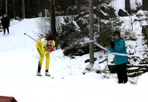 Hemmaåkaren Daniela Bjärmark blev tvåa i damernas juniorklass. Hon var nöjd med känslan i kroppen, inför junior-SM i Kalix framöver.