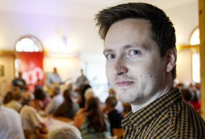 Henrik Perälä är lokal arrangör för Inlandsbanefestivalen i Lit.