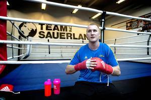 Otto Wallin boxas för Team Sauerland och laddar nu upp inför proffsmatch på svensk mark.