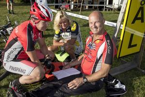 Gunnar Nilsson, Eva Jonsson och Benny Wiklund från Finnspång siktade inte på att vinna. Det fick någon annan göra