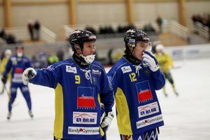 Patrik Gustafsson Thulin, till vänster, och hans Nässjö tippas tillhöra toppen även i år.