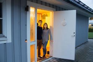 Luis Vilaca och Magda Filipe hade inbrott i huset i förra veckan.