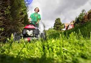 Vattna ordentligt, klipp lite och ofta och gödsla gräsmattan med måtta. Det är några av tipsen från Sandra Pedersen om hur du på bästa sätt kan få din gräsmatta att må bra.