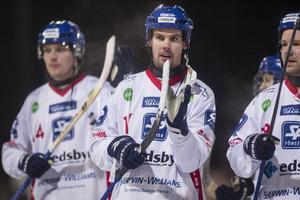 Mattias Hammarström gjorde två raka hörnmål i den första halvleken.