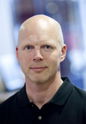 Projektledaren Johnny Karlsson.