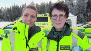 Therese Selander och Pernilla Olesen är efter avklarad kurs nu säkrare bakom ratten.