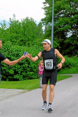 Torbjörn Larsson, Sala, sprang Silvermilen.