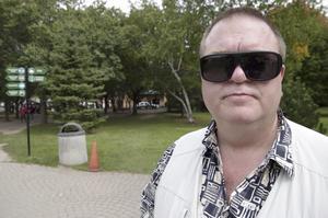 Andreas Nylén, 43 år, sjukskriven, Eskilstuna: – Lasagne, det blir mycket mat för lite arbete.