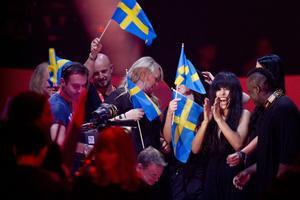 Svenskt jubel i Baku. Mycket talar för att det kan bli så även natten som kommer. För Loreen vinner väl, eller varför inte Malta?