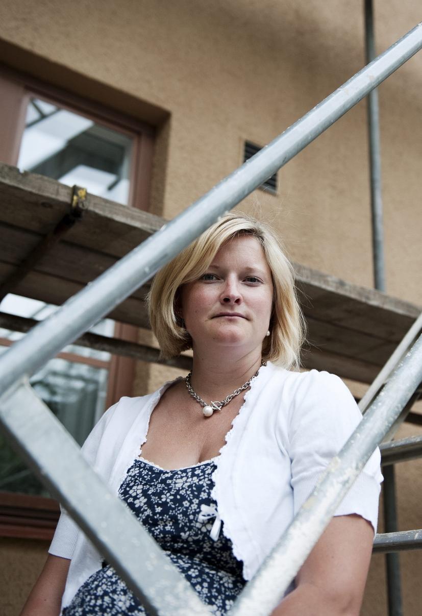 Kvinnor krankta i byggbranschen