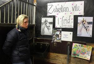 Köpings ridklubb har förlorat  ridskolehästen Zebastian i kolik. Ridinstruktör Stina Engelin och hennes kollegor har gjort i ordning Zebs spilta till en minnesplats, där eleverna får sätta upp texter om och till Zeb under en veckas tid.