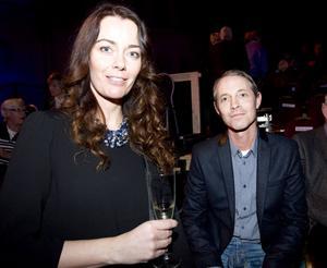 Kia och Claes Lundberg var mycket imponerade av föreställningen och tyckte det kändes bra att se premiären.– Det är härligt med premiär, det är något speciellt, säger Kia Lundberg.