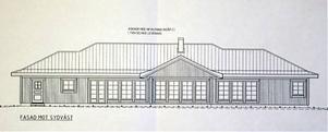 Så här är det meningen att det nya huset ska se ut.