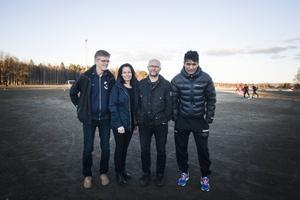 Sören Ericson har tillsammans med Mikaela Persson, Lars Schröder och Chris Olsson bildat en ny ungdomsgrupp i Ljusdals IF.