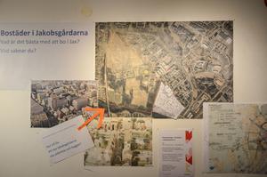 Här är kartor och idéer till det nya bostadsområdet.