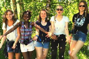 Ungdomar från hela världen kommer till Gnarp och Nordanstigs Kristna Center, varje sommar.