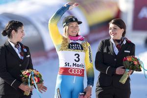 Frida Hansdotter finns med i landslagets första teknik-träningsgrupp.