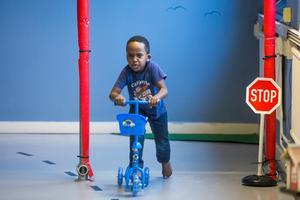 Javan Yamuremye testade sparkcykel.