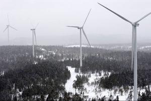 Debattörerna från Åre vill inte ha vindkraft som förstör turismen. Foto: scanpix