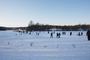 Matfors SK arrangerade för andra året i rad Ica-loppet kring Rännösjön i Matfors.