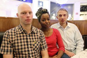 Richard Söderlund (Östersund), Matilda Rödin (Östersund) och Terje Jönsson (Frösön) är aktiva i Förskoleupproret, som kämpar för ökade resurser till barnomsorgen i Östersunds kommun.