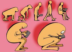 Paddnacke. Evolutionen går vidare.