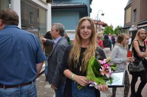 Anna Moraeus fick ett stipendium för fyra år sedan när hon var på besök under Orsayran.