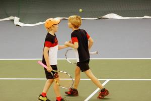 ÖFTK-duon Erik Novén och Joel Selander spelade dubbelfinal tillsammans och föll 2–6, 5–7 ...