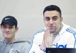 ORDFÖRANDE. Orhan Yildis, till höger, är ordförande i nybildade X-Cons Gävle och Abbas Khreiss, styrelseledamot.