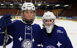 Om sex år ska William Åhlstad och Elis Leander försvara Leksands färger i A-laget, i alla fall om de själva får bestämma.
