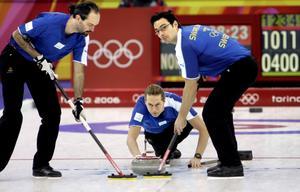 Lag Peja Lindholm vid olympiska spelen 2006 i Turin.