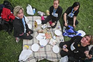 Lön för mödan - picknick.