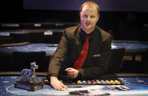 Patrick Nilsson, poker manager på Casino Cosmopol i Sundsvall.