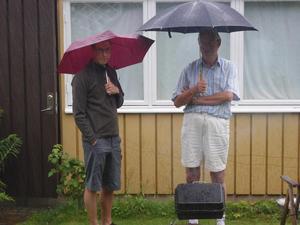 Blöt grillfest igen sommaren 2012!