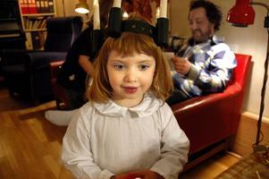 Ujes Lucia. Dottern Bixi, 4 år.
