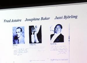 Fred Astaire, Josephine Baker och Jussi Björling tillhörde dem som i annonser garanterade Läkerols förträfflighet.