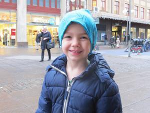 Benjamin Collin, 4, förskolebarn, Nykvarn:– Min favoritpizza är barn-Vesuvio. Jag gillar pizza och äter det ganska ofta. I alla fall ibland när det är lördag.