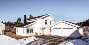 Modernt helt nybyggt hus i ett av Faluns attraktivaste områden.