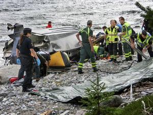 Tre personer omkom vid ett sjödrama i Örnsköldsviks skärgård i augusti.