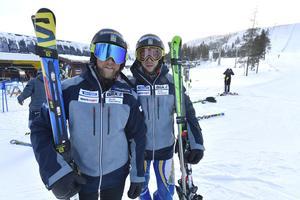 Moraåkarna Michael Forslund och Victor Sticko laddar för världscup och VM.