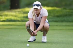 Pernilla Lindberg hade topphäng i Tyskland, men fick nöja sig med en sjunde plats,