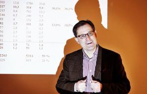 Roger Hjert, vd för Translink, Kilafors, känner tillförsikt för framtiden även om det är fotsatt tuffa tider.